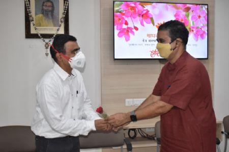 माधव नेत्रालय में राष्ट्रीय नेत्रदान पखवाड़ा समापन समारोह